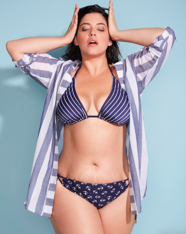 People are raving over Lane Bryant's recent unretouched photo of model Denise Bidot. (Photo: Lane Bryant)