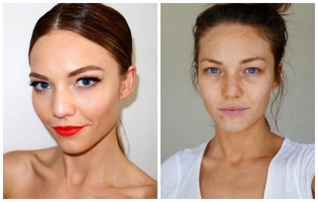 The down to earth Australian TV personality, Sam Frost, looking beautiful with no make-up on. Source: Instagram / fro01