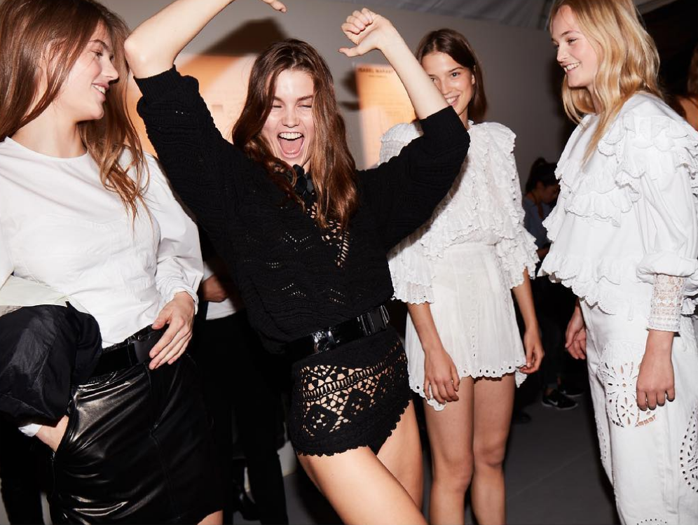 <p>We repeat. So. Much. Fun. <em>[Photo: Isabel Marant/ Instagram]</em> </p>