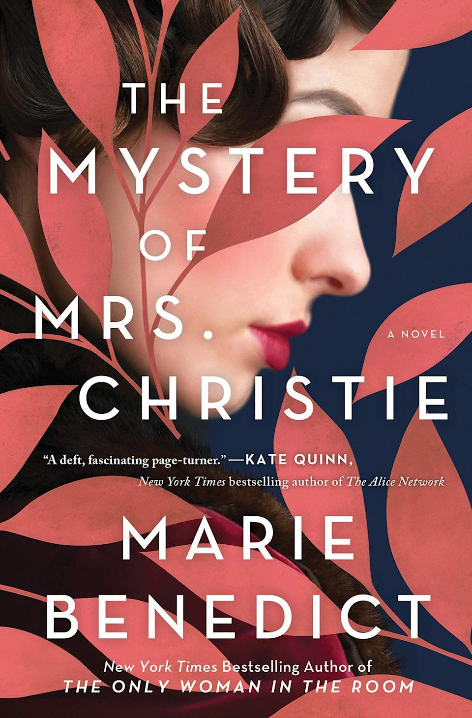 """If you're an ardent Agatha Christie fan, don't miss """"The Mystery of Mrs. Christie."""" This story of historical fiction explores the famous author's disappearance in December 1926, which prompted an unprecedented manhunt. Although Christie reappeared 11 days later, the details surrounding the scenario remain murky at best. Read more about it on <a href=""""https://www.goodreads.com/book/show/54221749-the-mystery-of-mrs-christie"""">Goodreads</a>, and grab a copy on <a href=""""https://amzn.to/2Vnjth9"""">Amazon</a> or <a href=""""https://fave.co/3mF5teA"""">Bookshop</a>.<br /><br /><i>Expected release date:</i> <i>December 29</i>"""