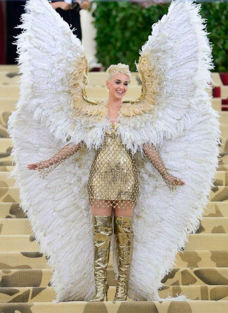 PHOTO: Katy Perry attends the Heavenly Bodies: Fashion & The Catholic Imagination Costume Institute Gala at The Metropolitan Museum of Art on May 7, 2018 in New York City. (Raymond Hall/GC Images/Getty Images, FILE)