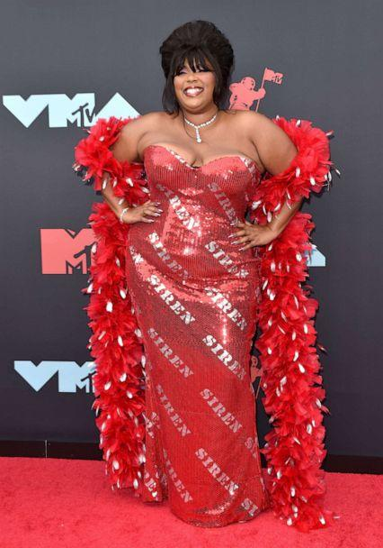 PHOTO: Lizzo attends the 2019 MTV Video Music Awards at Prudential Center on August 26, 2019 in Newark, New Jersey. (Axelle/bauer-griffin/WireImage/Getty Images)