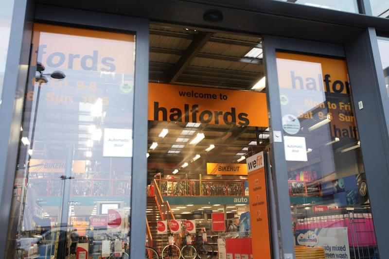 Halfords said its staff aim to be 'as helpful as possible' (PA Archive/PA Images)