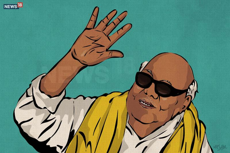 Did Karunanidhi Really Deny a Marina Burial to Kamaraj and Rajaji?