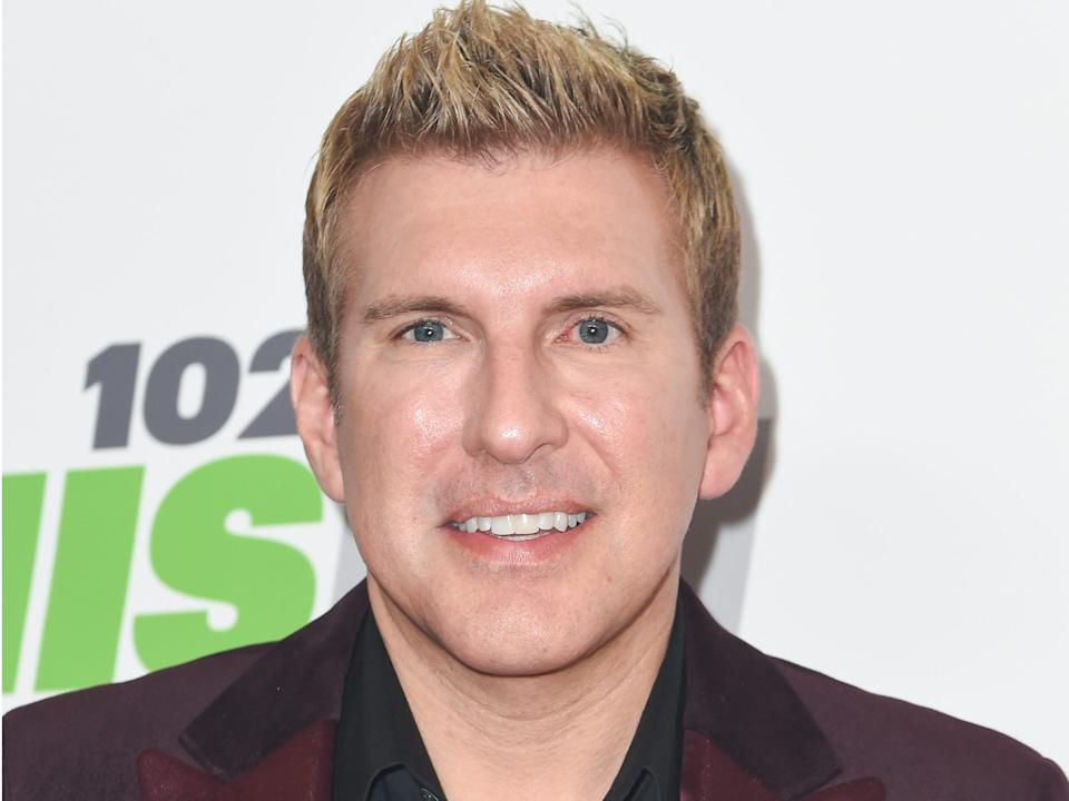 Todd Chrisley tested positive for COVID-19.