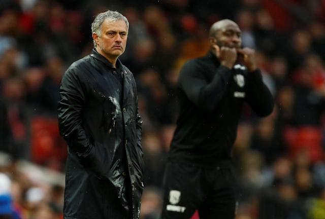 Jose Mourinho and Manchester United lost 1-0 to West Bromwich Albion to end the title race.
