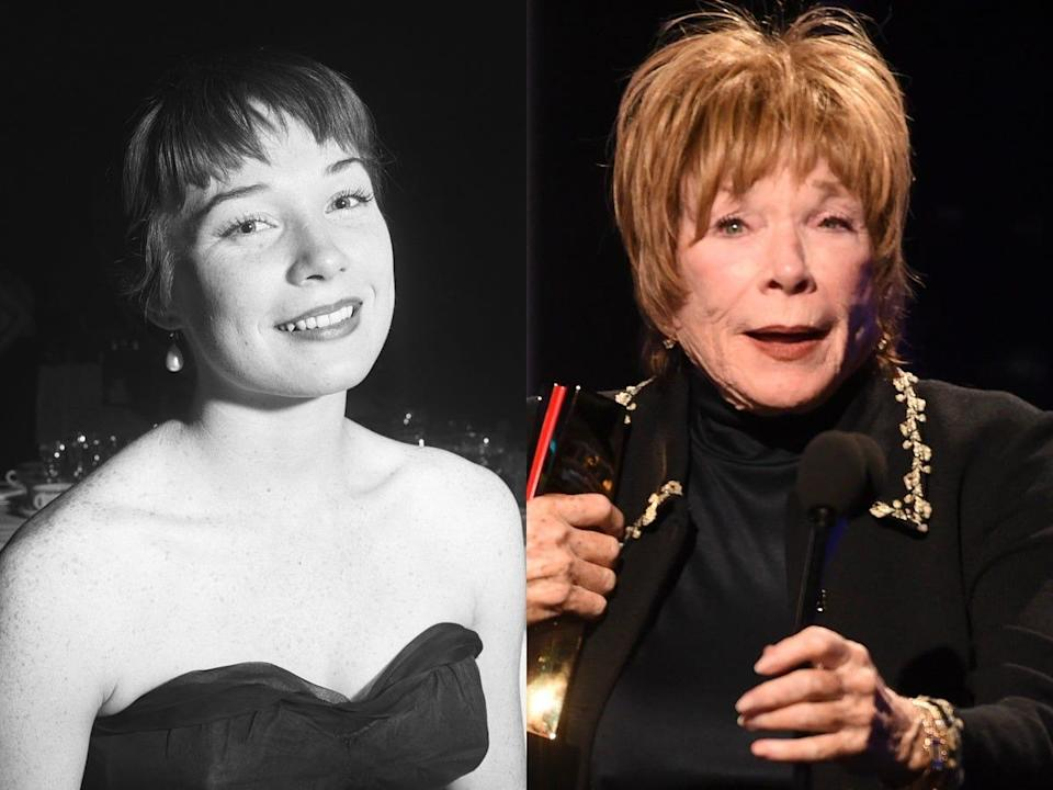 shirley maclaine in her 20s
