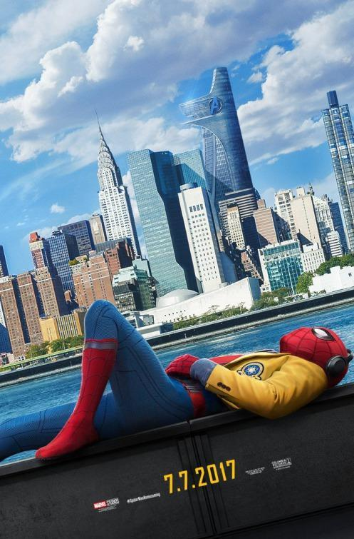 <p>Unlike that other, overloaded <em>Homecoming</em> poster, the film's teaser image is a more stripped-down composition, neatly conveying the film's high-school-comedy-meets-superhero vibe. </p>