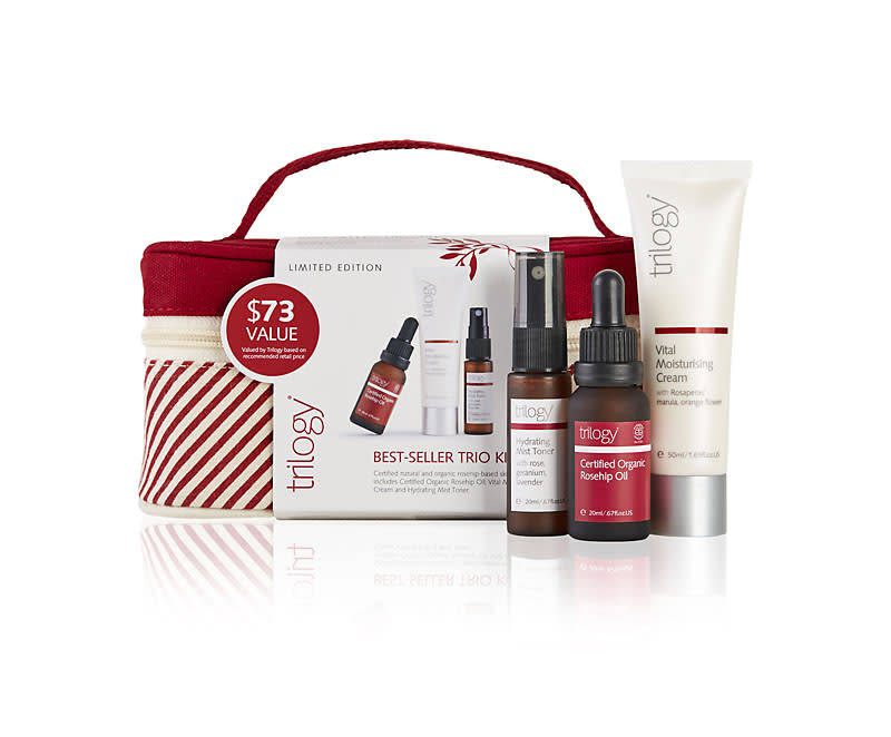 Trilogy Best Sellers Trio Kit - $31.99 down from $47.95
