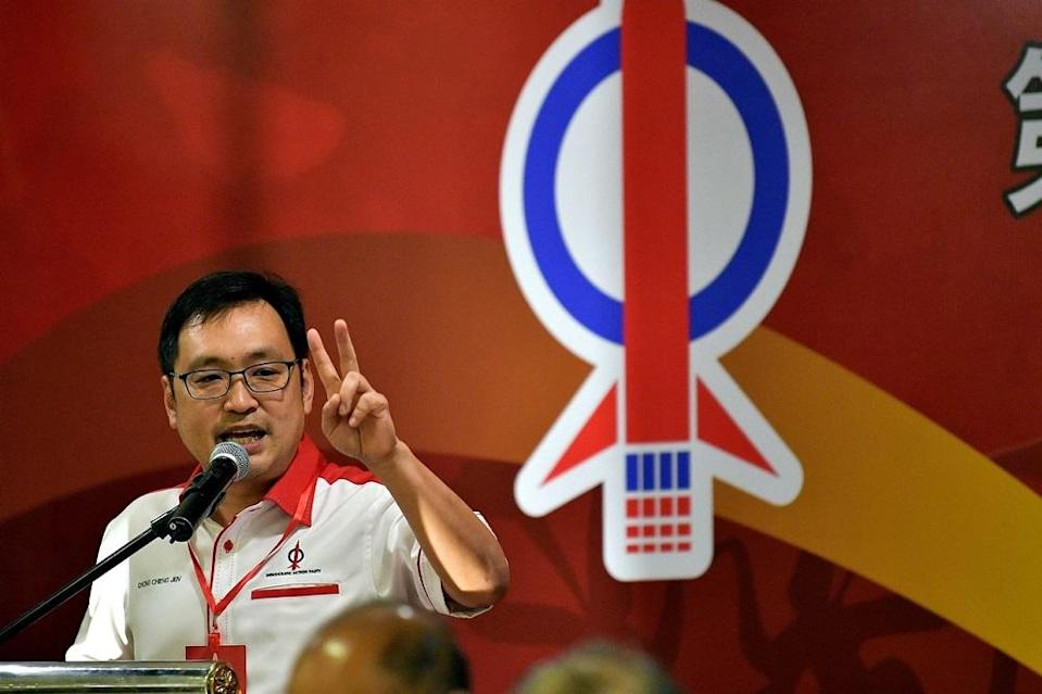 On May 13, Sarawak DAP chairman Chong Chieng Jen accused the state government of not looking into the suffering and hardship of businesses across all sectors and refusing to allocate financial assistance to them. — Bernama pic