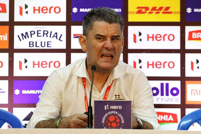 The Chennaiyin FC boss wants to pick up their first win of the season against 'rivals' Bengaluru FC...