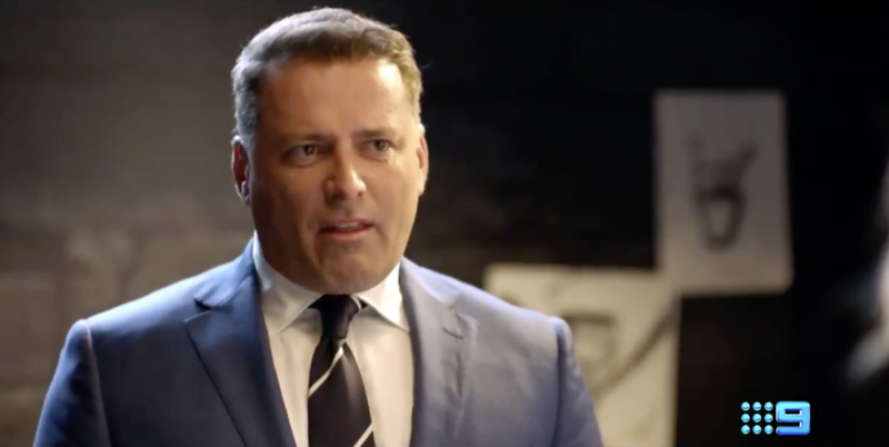 Karl Stefanovic in an advert for the Today show