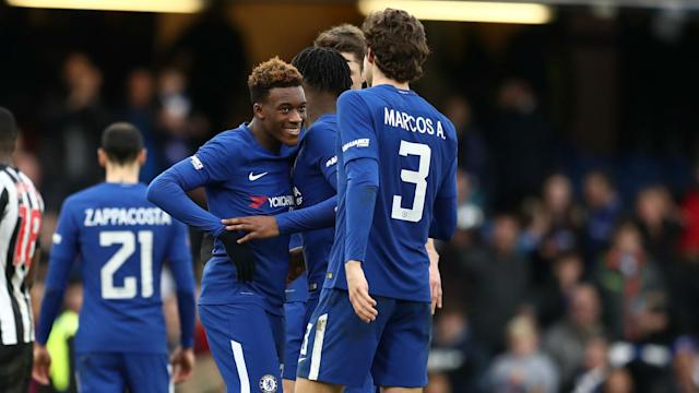 There is no reason for Callum Hudson-Odoi to leave Chelsea for Bayern Munich, according to Marcos Alonso.