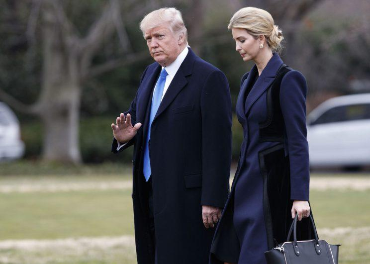 Ivanka Trump has become an unofficial adviser to her father, the President (Rex)