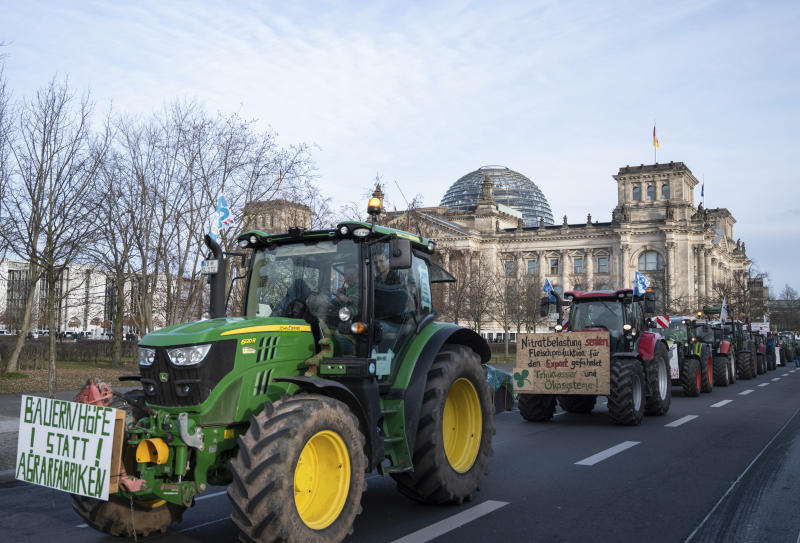 Germany Agriculture Protest