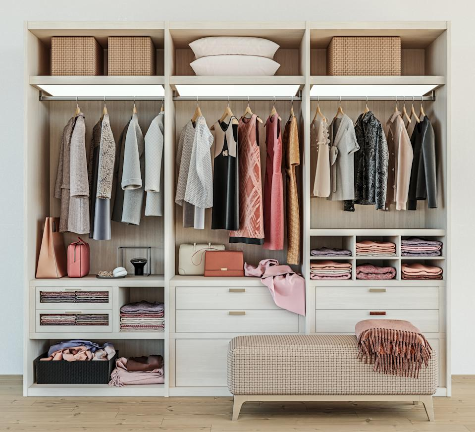 Time to give your wardrobe a major makeover. (Photo: Getty)