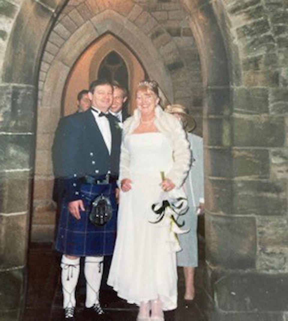 Sue and Bill tied the knot in 2004. (Collect/PA Real Life)