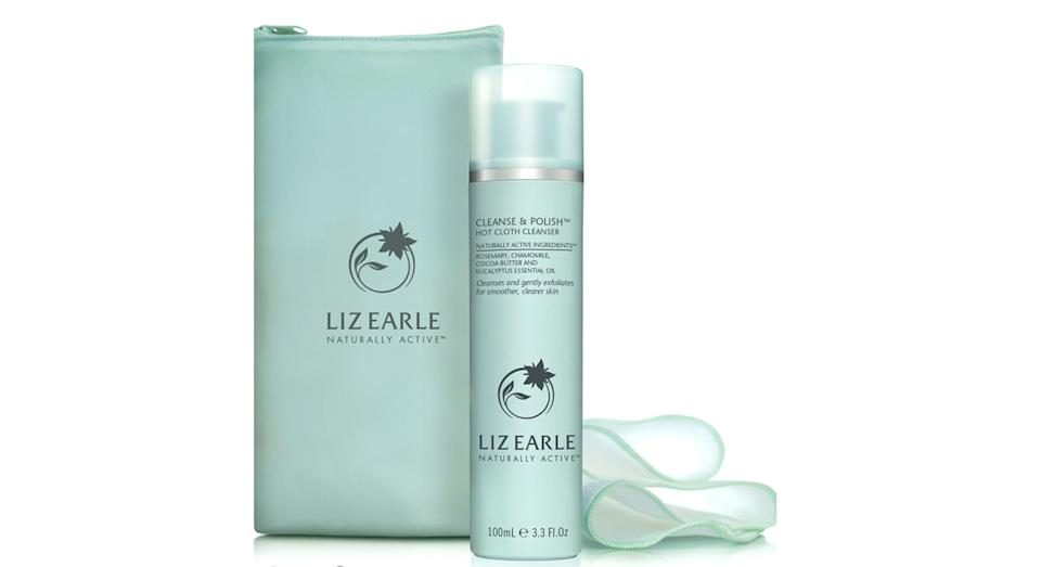 Liz Earle Cleanse & Polish Hot Cloth Cleanser 100ml Starter Kit