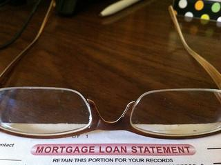 Mortgage loan statement