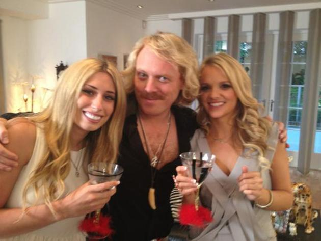 "Celebrity photos: Who'd have thought that Keith Lemon and Stacey Solomon would be such good friends that they'd spend an evening hanging out together? Keith Lemon tweeted this picture of them with the caption: ""Had a great night tonight with me old pal Stacey."""