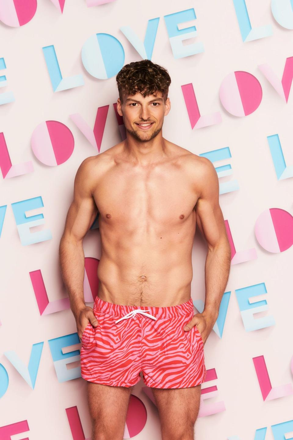 Hugo Hammond is getting back into the dating game. (ITV)