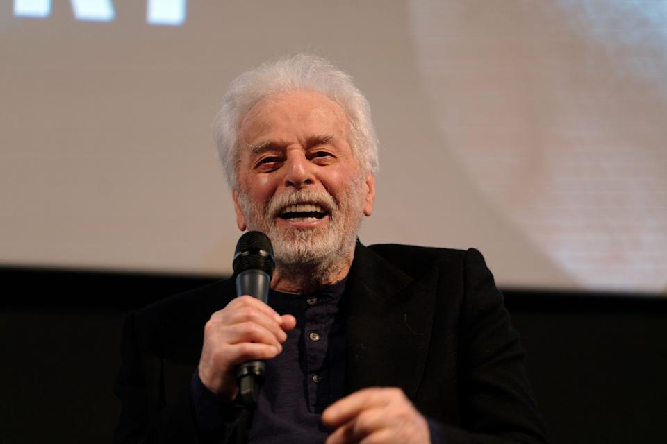 """LUXEMBOURG, LUXEMBOURG - MARCH 06: Filmmaker Alejandro Jodorowsky speaks at the """"Alejandro Jodorowsky Masterclass"""" during the 10th Luxembourg City Film Festival - Day Two on March 06, 2020 in Luxembourg, Luxembourg. (Photo by Sylvain Lefevre/Getty Images)"""