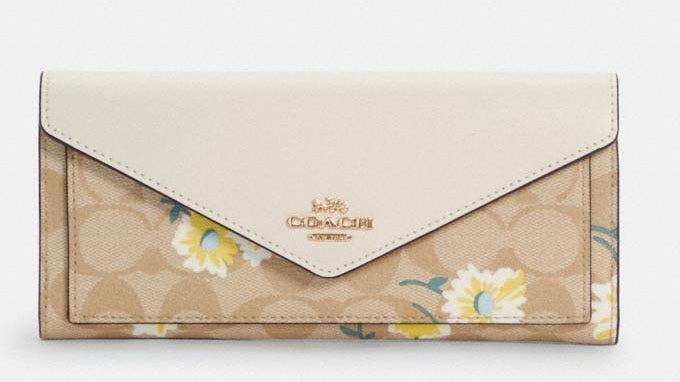 This springtime wallet will be a breath of fresh air.