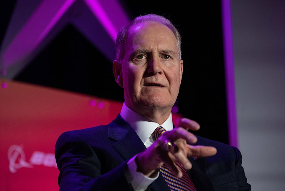 Southwest Airlines CEO Gary Kelly speaks at the annual Aviation Summit in Washington, DC, on March 5, 2020. (Photo by Nicholas Kamm / AFP) (Photo by NICHOLAS KAMM/AFP via Getty Images)