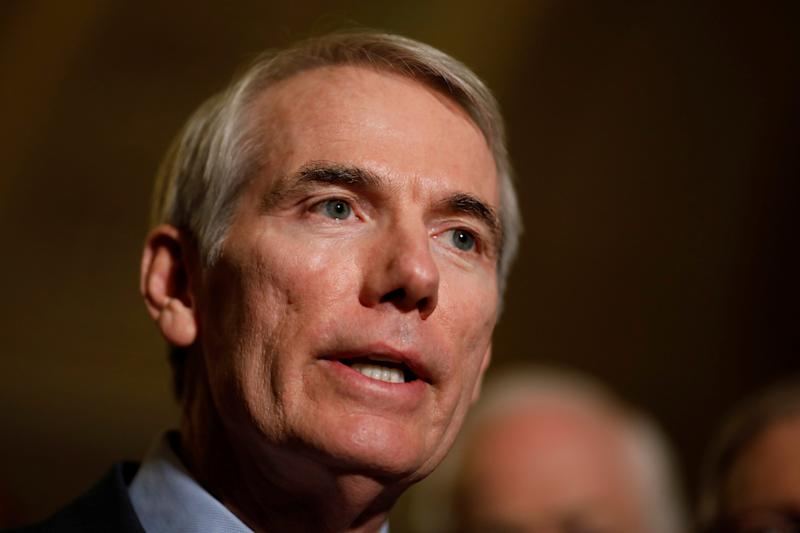 Ohio Sen. Rob Portman (R) pushed for the provision as well. (Aaron Bernstein / Reuters)
