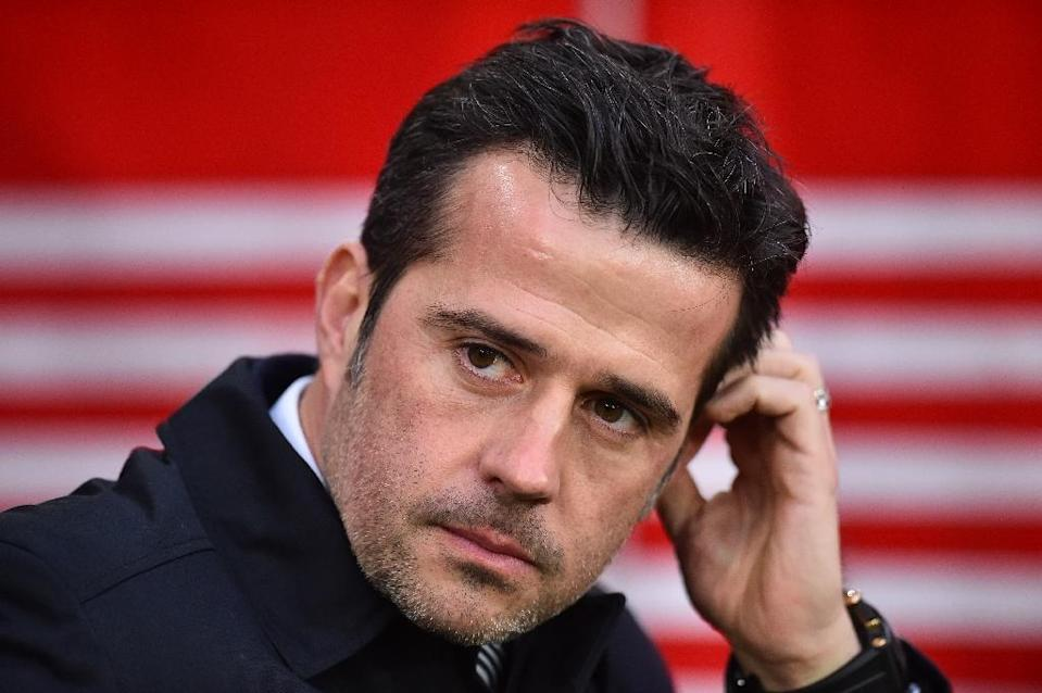 Everton manager Marco Silva saw his side beaten 2-1 at Southampton (AFP Photo/Glyn KIRK )