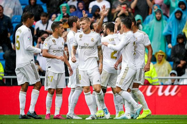 2 - Real Madrid (groupe A) : 1,19 milliard d'euros.