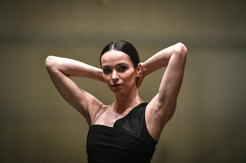 Young ballerinas are being distracted by viral videos of hyper-eleastic dancers performing incredible tricks, says ballet legend Diana Vishneva (AFP Photo/STEPHANE DE SAKUTIN)