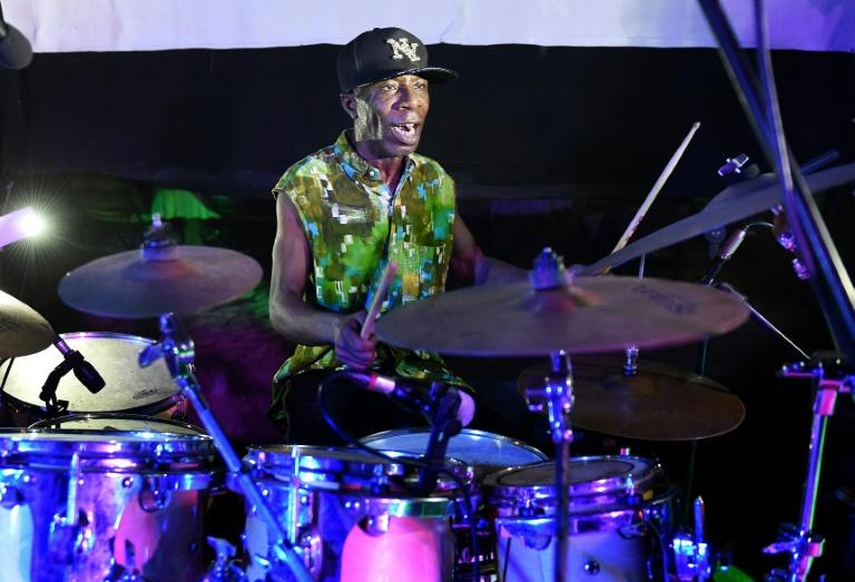 Ivorian jazz drummer Paco Sery, a self-taught virtuoso, started playing with a band at age 10