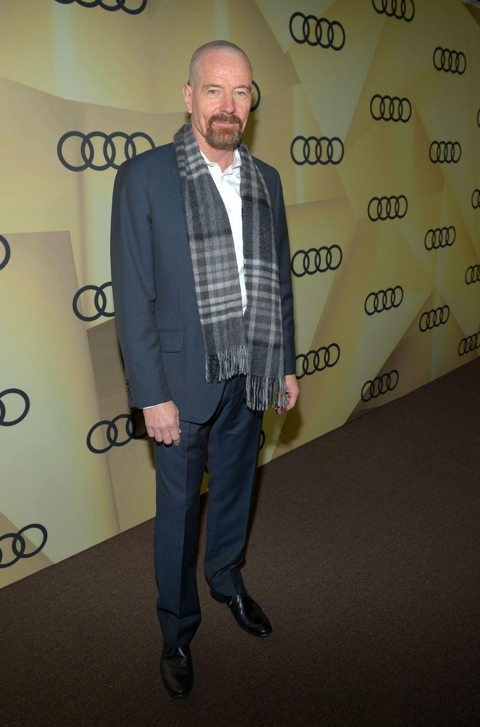 <p><strong>Shaved</strong></p><p>But it was his role in <em>Breaking Bad</em> that caused Cranston to shave his head, leaving fans stunned—and not just because of his performance. </p>
