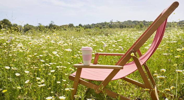 This £10 folding chair will upgrade the comfort level of your picnic. (Getty Images)