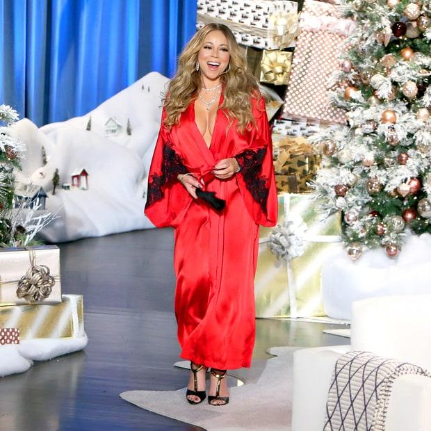 Mariah Carey on Ellen (Michael Rozman/Warner Bros.)