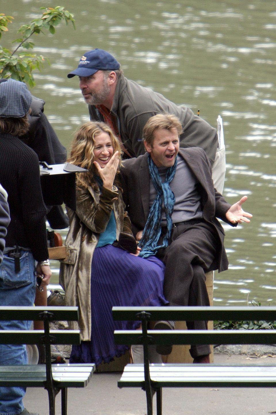 "<p>SJP played a large role in bringing Mikhail Baryshnikov on the show. Despite criticisms from viewers, Parker defended her choice for her cultured love interest: ""[Mikhail] is extraordinary, and this character is not like anyone we've ever had on the show before,"" she tells <a href=""http://www.tvguide.com/news/sarah-jessica-defends-41277/"" rel=""nofollow noopener"" target=""_blank"" data-ylk=""slk:TV Guide"" class=""link rapid-noclick-resp"">TV Guide</a> at the time. ""And this person has to bring with him culture and style and complication and depth and a brand new point of view about the city. And it is thrilling to think that there is this whole other city [out there] that Carrie doesn't know [about]."" </p>"