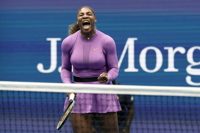 With 12 Grand Slam singles titles and more than three years firmly atop the rankings, Serena Williams is the AP's Female Athlete of the Decade. (AP/Eduardo Munoz Alvarez)