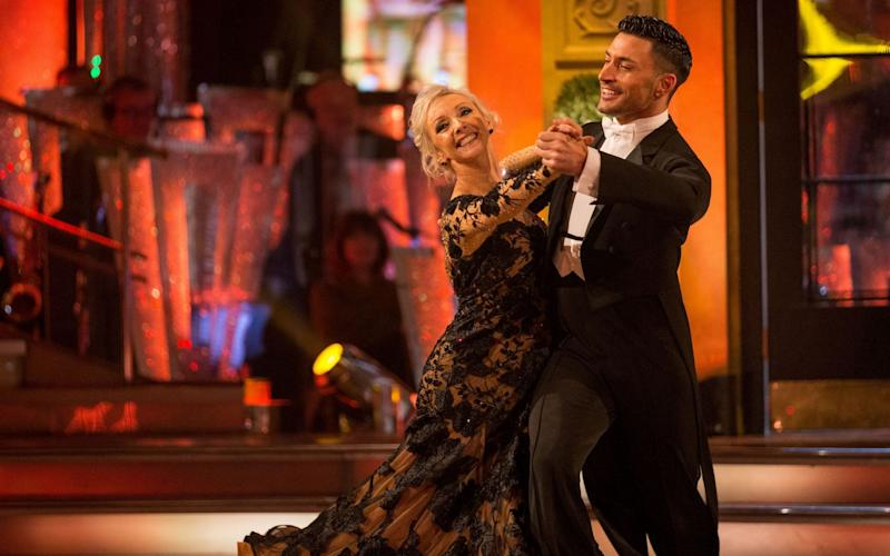 Four couples, including Debbie McGee and Giovanni Pernice, will battle it out on Saturday - PA