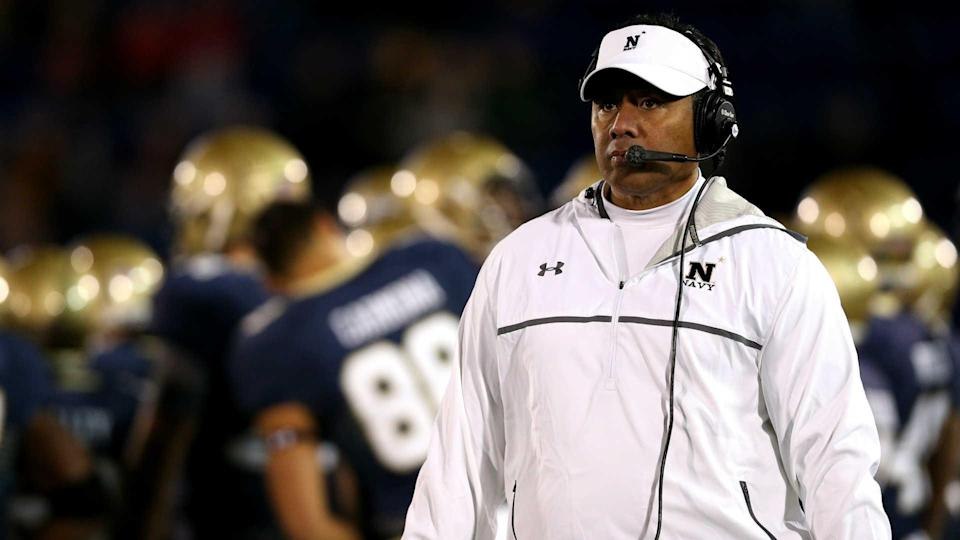 After succeeding at Navy, could Ken Niumatalolo be the out-of-the-box coaching hire Kansas needs? (Sporting News)