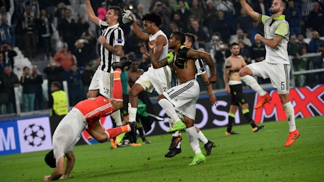 Juventus missed a number of chances in a one-sided affair and were grateful to a late goal from their Croatian striker for all three points.