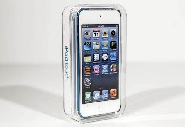 Apple 5th-Gen iPod touch in Its Clear Case