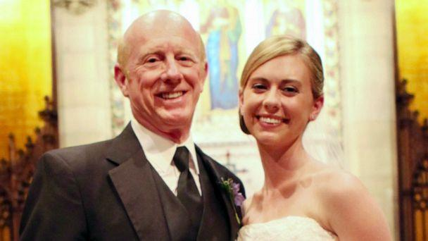 PHOTO: Donald Adair poses with his daughter Abby Adair Reinhard on her wedding day. (Danielle DiNatale/13 One Photography)
