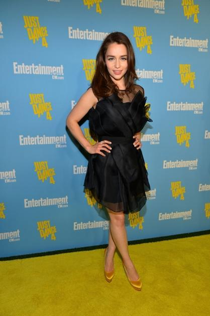 Emilia Clarke attends Entertainment Weekly's 6th Annual Comic-Con Celebration in San Diego on July 14, 2012 -- Getty Images
