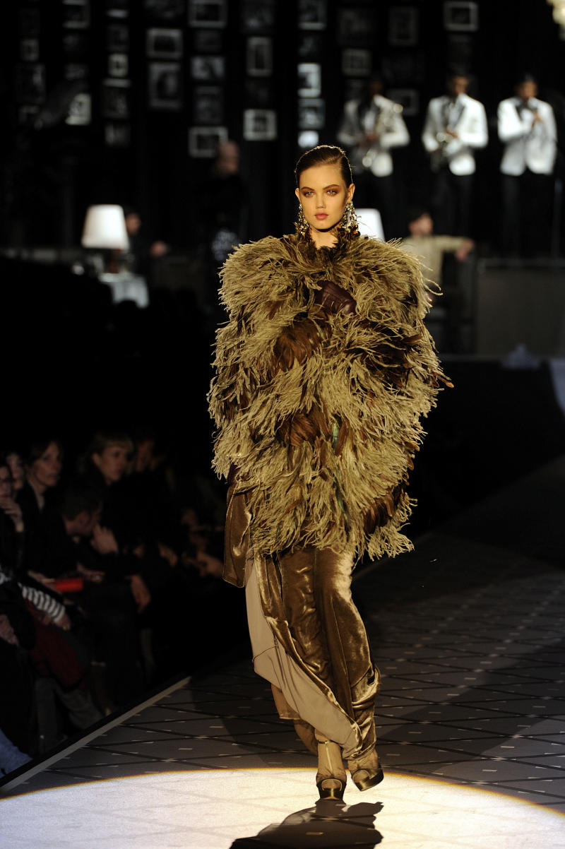 Large coats a mainstay for next winter from Milan