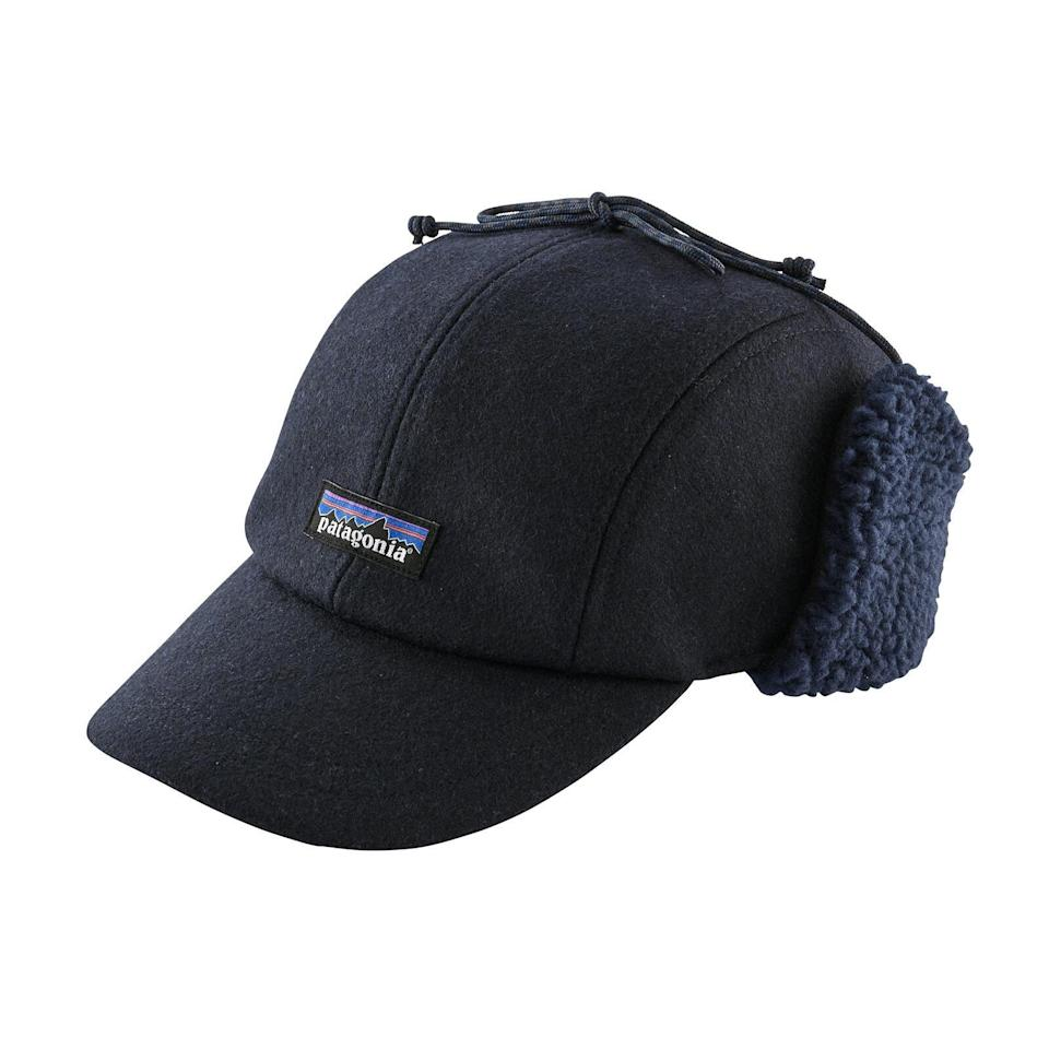 "<p><strong>Write Your Review</strong></p><p>patagonia.com</p><p><strong>$55.00</strong></p><p><a href=""https://www.patagonia.com/product/recycled-wool-ear-flap-cap/22326.html"" rel=""nofollow noopener"" target=""_blank"" data-ylk=""slk:Shop Now"" class=""link rapid-noclick-resp"">Shop Now</a></p>"