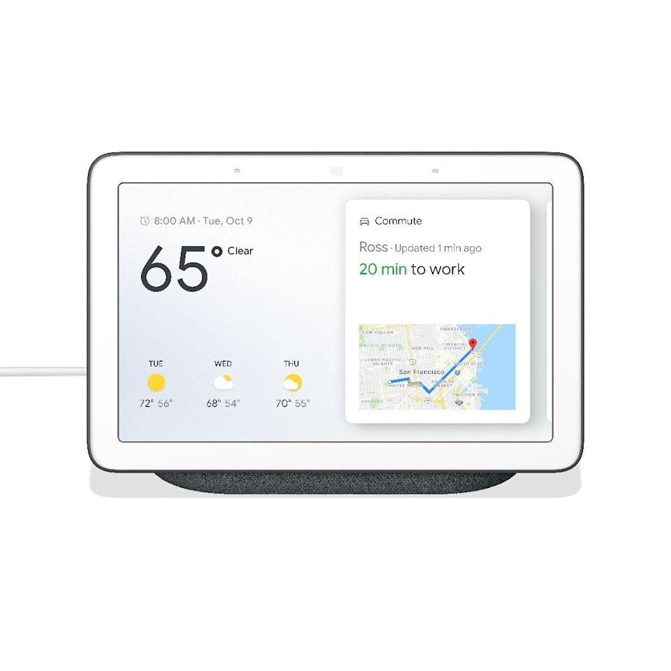 """<p><strong>Google</strong></p><p>walmart.com</p><p><strong>$89.98</strong></p><p><a href=""""https://go.redirectingat.com?id=74968X1596630&url=https%3A%2F%2Fwww.walmart.com%2Fip%2F473535403&sref=https%3A%2F%2Fwww.womenshealthmag.com%2Ffood%2Fg19983997%2Fkitchen-gifts%2F"""" rel=""""nofollow noopener"""" target=""""_blank"""" data-ylk=""""slk:Shop Now"""" class=""""link rapid-noclick-resp"""">Shop Now</a></p><p>Your BFF can use it to learn the next step in a recipe, set multiple timers...or put some Netflix on in the background while they're whipping up a meal.</p>"""