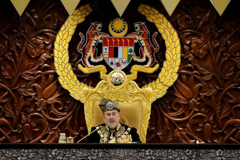 No honorific titles will be conferred in conjunction with the Yang di-Pertuan Agong's official birthday celebration for the first time as head of state. ― Picture by Yusof Mat Isa