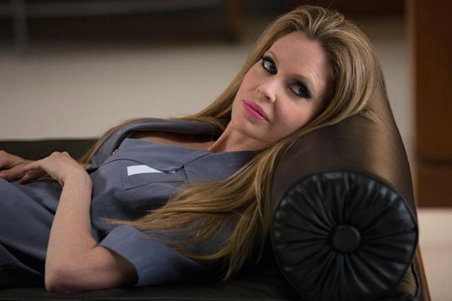 "Kristin Bauer van Straten in the ""True Blood"" Season 6 episode, ""In the Evening."""
