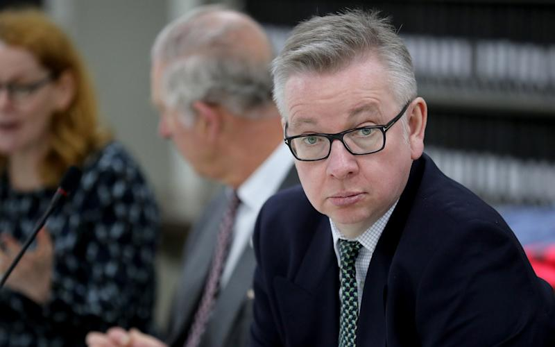 """Mr Gove, the Environment Secretary, said Britain is now one of the countries with the """"warmest attitude to migration"""" in Europe - Getty Images Europe"""